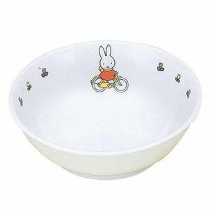 関東プラスチック工業 メラミンお子様食器 「ミッフィー」 ラーメン鉢 CM-51C 5452410