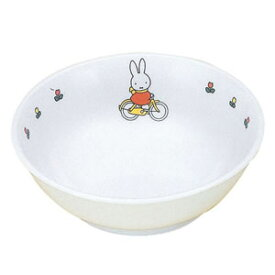 関東プラスチック工業 メラミンお子様食器 「ミッフィー」 ラーメン鉢 CM-51C RLC5101