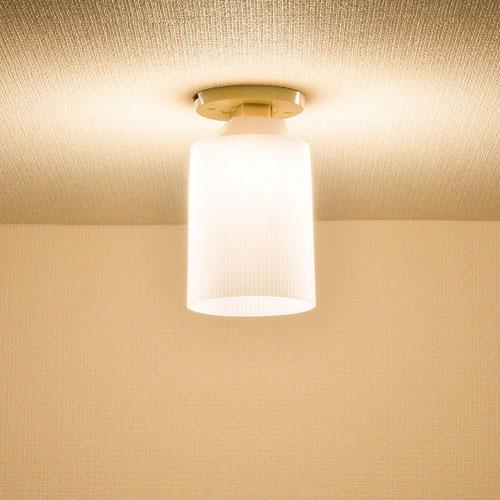 オーム電機 LEDミニシーリングライト 電球色 LT-YS08-L