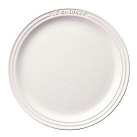 ル・クルーゼ Le Creuset ラウンド プレート LC ホワイト 910140-19 RLK0911
