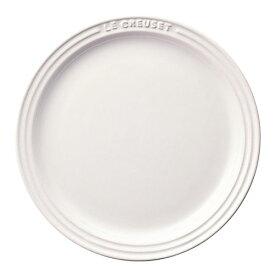ル・クルーゼ Le Creuset ラウンド プレート LC ホワイト 910140-23 RLK0912