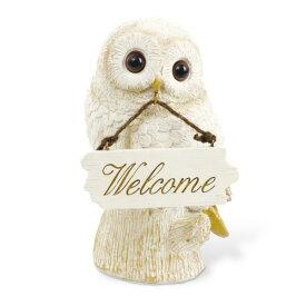 キシマ WELCOME OWL WELCOME ORNAMENT ウェルカムアウル ウェルカムオーナメント KH-61095