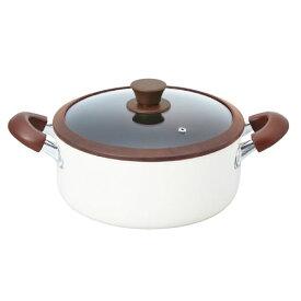 クワナキッチン アルミ両手鍋 24cm KKN-AL24R