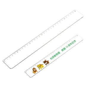 PR定規ホワイト 30cm 527-10