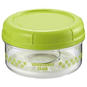 川崎合成樹脂 VC colorful's 丸型漬物器 クイックピクルス ぷち グリーン VC-C25