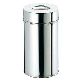 EBM 18−8 茶缶 コーヒー・紅茶缶 18cm 0507300