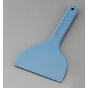 【送料無料】MPF カラーシリコンスクレイパー 大 短柄 青 MP-LS-H WSK8201
