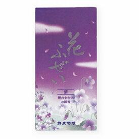 カメヤマ 花ふぜい紫 煙少香 100g 4030494