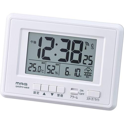 ノア精密 MAG デジタル時計 ケプラー T-693 WH-Z