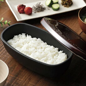 カクセー グレイスラミック 陶製おひつ 1.5合 GC-03