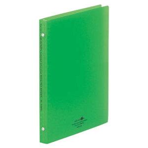 LIHIT LAB リヒトラブ リングレックス バインダー 26穴 B5 黄緑 N-5025-6
