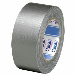 積水化学工業 布テープ NO.600カラー 銀 N60S03
