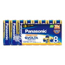 パナソニック PANASONIC エボルタ乾電池 単3 8本パック LR6EJ/8SW