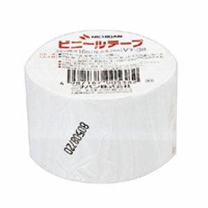 ニチバン ビニールテープ 38mm 白 VT-385