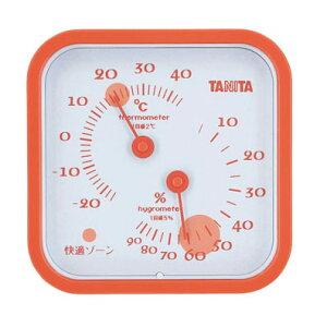 TANITA タニタ 温湿度計 オレンジ TT-557 BOVQ002