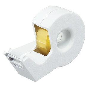コクヨ テープカッター カルカット 白 ハンディタイプ小巻き 白 T-SM300W