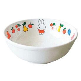関東プラスチック工業 メラミン 子供食器 ミッフィーフルーツシリーズ ラーメン鉢 CM-50FR 5445220