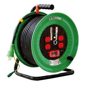 【送料無料】日動工業 極太 3.5(mm2)電線仕様ドラム 30m 100VELBドラム ND-EK34F