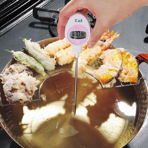 貝印 Kai House Select 見やすい表示のデジタル温度計 DH-7279
