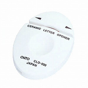 オート セラミックレターオープナー 白 CLO-500シロ