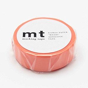 カモ井加工紙 マスキングテープ mt 1P サーモンピンク MT01P188