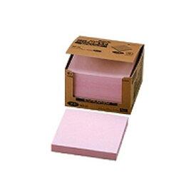 ニチバン ポイントメモ 再生紙シリーズ ビジネスパック 75mm×75mm ピンク MB-2P