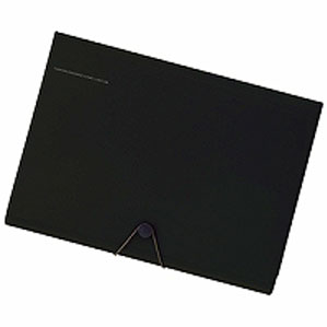 LIHIT LAB SMART FIT キャリングドキュメント A4 ブラック A-7589-24