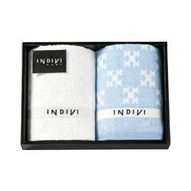 インディヴィ フェイスタオル 2枚セット INCT-200