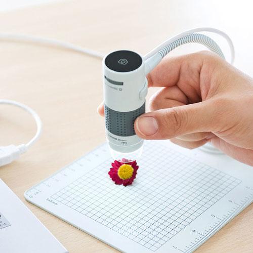 【送料無料】サンワサプライ USB顕微鏡 LPE-07W【smtb-u】