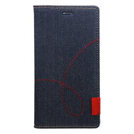【お試し送料無料】Zenus ゼヌス Xperia XZ3 Denim Stitch Diary Z15606XZ3