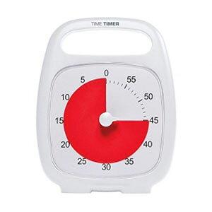 【送料無料】Time Timer Time Timer PLUS(R) タイムタイマー プラス White TTP7-WHT-W