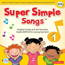 Super Simple Learning Super Simple Songs 'Original' Series: CD1 (第2版)