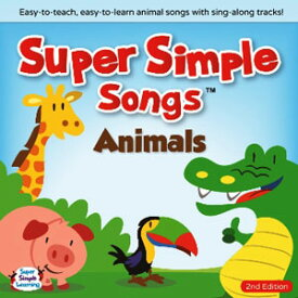 Super Simple Learning Super Simple Songs 'Themes' Series: Animals CD