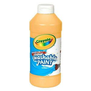 Crayola クレヨラ Washable Paint Peach 水でおとせる絵の具 単色ボトル ピーチ 54201633