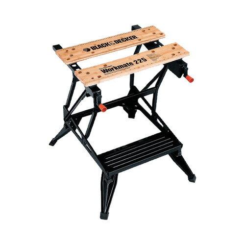 【あす楽】【送料無料】BLACK&DECKER ワークメイト WM225 【作業台 折りたたみ テーブル ワークベンチ DIY 作業工具】