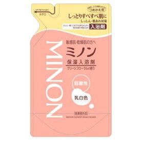 第一三共 ミノン 薬用保湿入浴剤 詰替え用 400ML