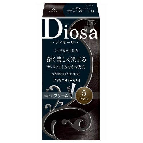 ヘンケルジャパン パオン ディオーサクリーム 5 ブラウン