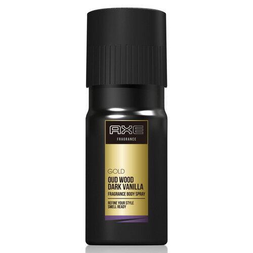 ユニリーバ アックス ゴールド ボディスプレー ウッドバニラの香り 60g
