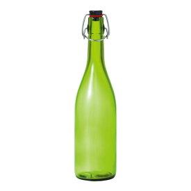 アデリア 石塚硝子 スイングストッパーボトル 720ml エメラルドグリーン PSI3301