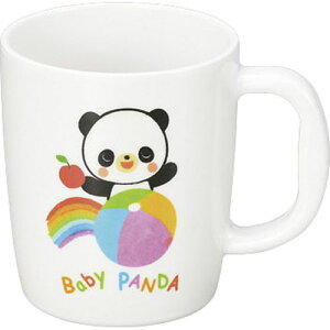エンテック メラミンお子様食器 赤ちゃんパンダ 片手コップ 小 PA-9 RAK0801