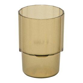 石川樹脂工業 トライタン お冷グラス 250cc アンバー 6429310