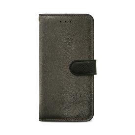 【お試し送料無料】HANSMARE ハンスマレ iPhone 6.1/iPhone XR CALF Diary メタルブラック HAN14278i61【smtb-u】