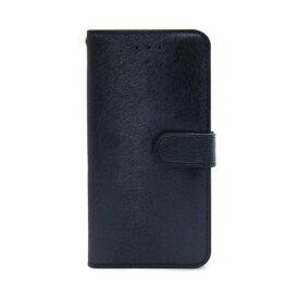 【お試し送料無料】HANSMARE ハンスマレ iPhone 6.1/iPhone XR CALF Diary ネイビーブルー HAN14279i61【smtb-u】