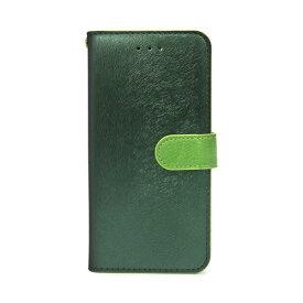 【お試し送料無料】HANSMARE ハンスマレ iPhone 6.1/iPhone XR CALF Diary フォレストグリーン HAN14281i61【smtb-u】