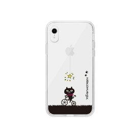 【お試し送料無料】abbi FRIENDS アビィフレンズ iPhone 6.1/iPhone XR ネコマンジュウクリアケース サイクリング ABF14586i61【smtb-u】