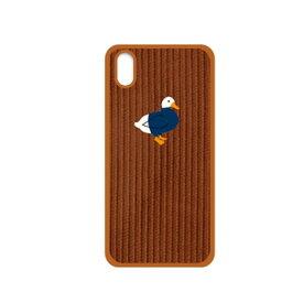 【お試し送料無料】Design Skin デザインスキン iPhone 5.8/iPhone X CORDUROY BUCKLE BARTYPE ダック/ブラウン DSK14690i58【smtb-u】