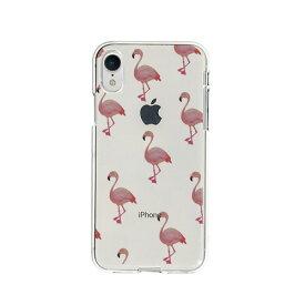 【お試し送料無料】Dparks ディーパークス iPhone 6.1/iPhone XR ソフトクリアケース フラミンゴ DS14818i61【smtb-u】