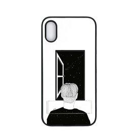 【お試し送料無料】Dparks ディーパークス iPhone 6.1/iPhone XR spirit case 窓際の男 DS15220i61【smtb-u】