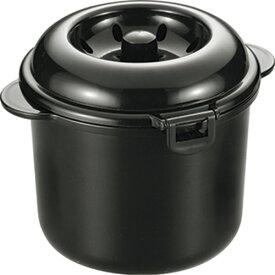 炊飯器 2合炊き 電子レンジ 炊飯 電子レンジ調理 電子レンジ専用炊飯器 紀州備長炭配合 ちびくろちゃん 2合炊きプラス CK-004