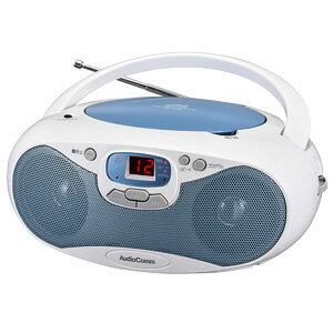オーム電機CDラジオワイドFM対応ブルーRCR-530N-AAudioComm
